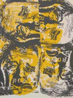 4x Ramses (zeefdruk 1997)
